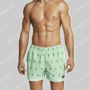 Bjorn Borg Nederland Zwem Shorts Santiago PineApple