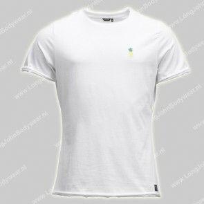 Bjorn Borg Nederland T-Shirt Pineapple-wit