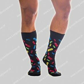 Andrew Christian Nederland Rainbow Condom Socks