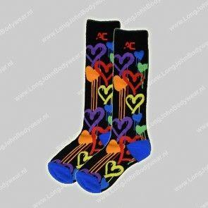 Andrew Christian Nederland Graffiti Heart Socks