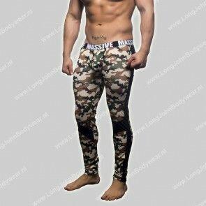 Andrew Christian Nederland Massive Camouflage Mesh Legging