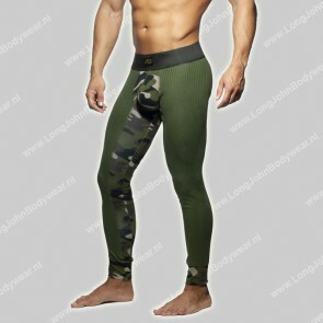 Addicted Nederland Camo-Rib Long John Army