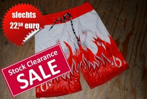 AussieBum Nedreland Swim Long Board-Short HellFire