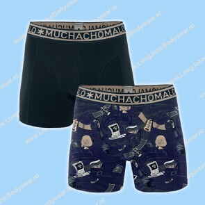 MuchachoMalo Kids Nederland Short 2-Pack Allways Connected