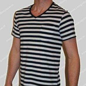 Tommy Hilfiger Nederland V-Shirt Stripe