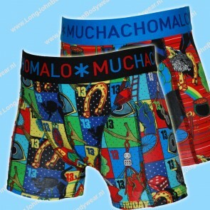 MuchachoMalo Kids Nederland Short 2-Pack Superstition