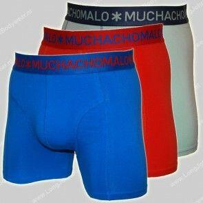 MuchachoMalo Nederland 3-Pack Short Solid 229