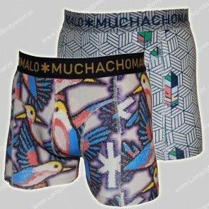 MuchachoMalo Nederland 2-Pack Short Free Like a Bird