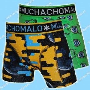 MuchachoMalo Kids Nederland Short 2-Pack Sleep when I'm Dead
