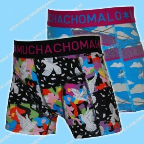MuchachoMalo Kids Nederland Short 2-Pack Doves X