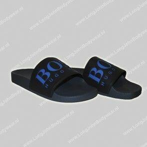 Hugo Boss Nederland Swim Solar Slid Logo slippers