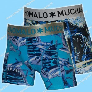 MuchachoMalo Kids Nederland Short 2-Pack SharkX