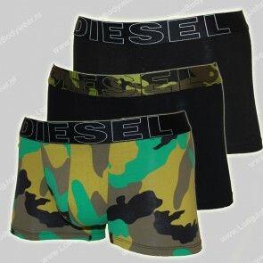 Diesel Nederland Shawn 3-Pack Short Camo