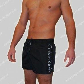 Calvin Klein Nederland Swim Short-Boxer Drawstring Calvin Klein