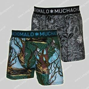 MuchachoMalo Nederland 2-Pack Short WoodX