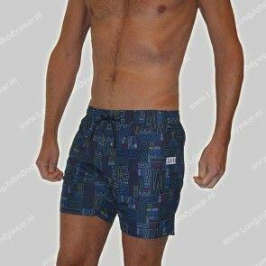 Bikkembergs Nederland Swim Puzzle Boxer Pocket