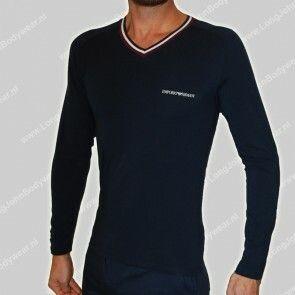 Emporio Armani Nederland LongSleeve V-Shirt 7A525