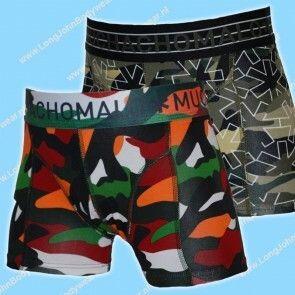MuchachoMalo Kids Nederland Short 2-Pack ARMYX04