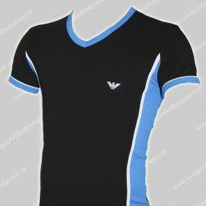 Emporio Armani Nederland V-Shirt Stretch-Cotton