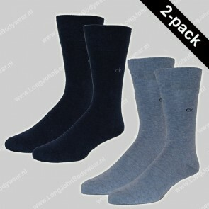 Calvin Klein Nederland Socks 2-Pack Casual Flat Knit Cotton