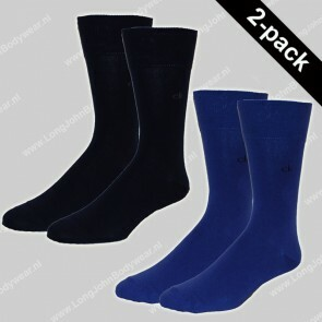 Calvin Klein Nederland Socks 2-Pack Casual Flat Knit Cotton