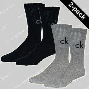Calvin Klein Nederland Socks 2-Pack Bright Logo
