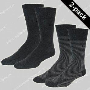 Calvin Klein Nederland Socks 2-Pack FineStripe