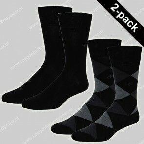 Calvin Klein Nederland Socks 2-Pack Argyle