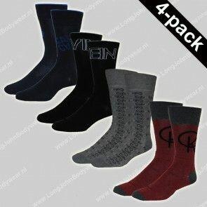 Calvin Klein Nederland Socks 4-Pack Gift-Box