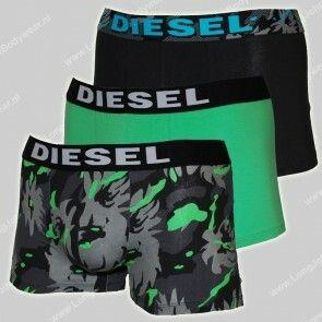 Diesel Nederland 3-Pack Shawn Boxer Camo Flower