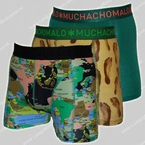 MuchachoMalo Nederland 3-Pack Short World at your Feet