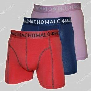 MuchachoMalo Nederland 3-Pack Short Solid 217
