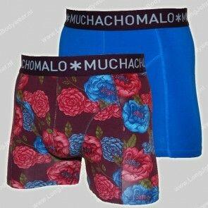MuchachoMalo Nederland 2-Pack Short-Rosa Cotton-Modal