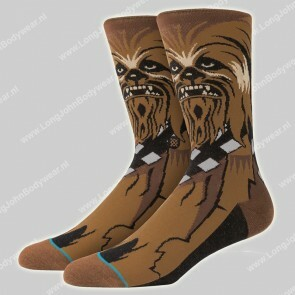 Stance Nederland Star Wars Socks Chewie Brown