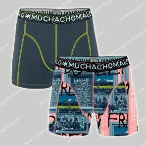 MuchachoMalo Nederland 2-Pack Short Berlin Wall