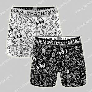 MuchachoMalo Underwear Nederland 2-Pack Short Iconic Art