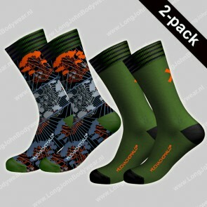 MuchaMalo Nederland 2-pack Socks Back to Basic