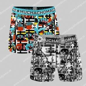 MuchachoMalo Nederland 2-Pack Short Television