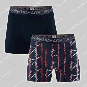 MuchachoMalo Underwear Nederland 2-Pack Shorts Bamboo Dragon