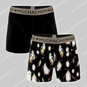 MuchachoMalo Nederland 2-Pack Short Cotton-Modal Peguin