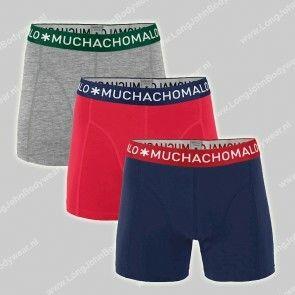 MuchachoMalo Nederland 3-Pack Short Solid 281