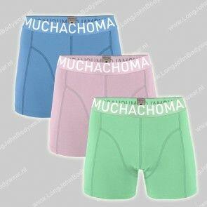 MuchachoMalo Underwear Nederland 3-Pack Short Solid 316