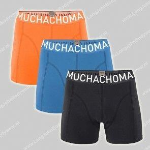MuchachoMalo Underwear Nederland 3-Pack Short Solid 318