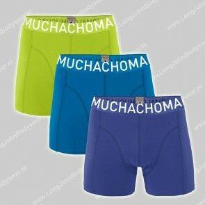 MuchachoMalo Underwear Nederland 3-Pack Short Solid 319