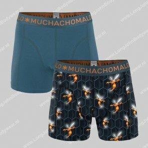 MuchachoMalo Underwear Nederland 2-Pack Short Cotton-Modal Wasp