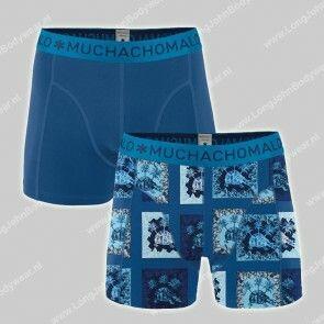 MuchachoMalo Nederland 2-Pack Short Cotton-Modal Turtle