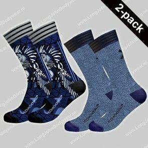 MuchaMalo Nederland 2-pack Socks Trance