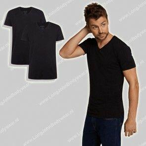 Bamboo Basics Nederland V-Shirt 2-pack Velo