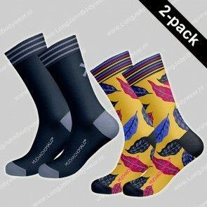 MuchaMalo Nederland 2-Pack Socks Leaf