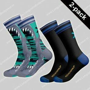 MuchaMalo Nederland 2-pack Socks Sharks